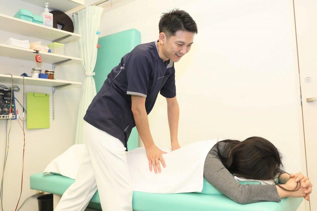 はなまる鍼灸接骨院 施術1